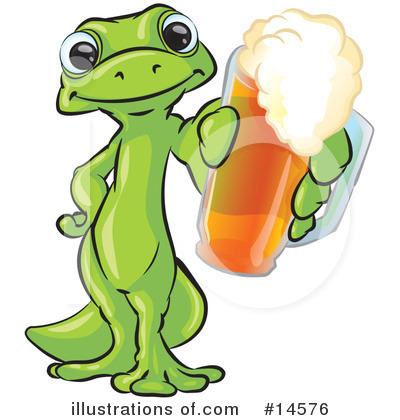 Gecko Clipart #14576 by Leo Blanchette