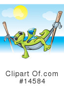 Royalty-Free (RF) Gecko Clipart Illustration #14584