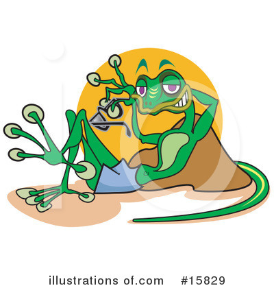 Gecko Clipart #15829 by Andy Nortnik