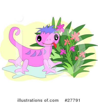 Gecko Clipart #27791 by bpearth