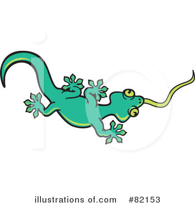 Gecko Clipart #82153 by Zooco