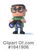 Geek Clipart #1641906 by Steve Young