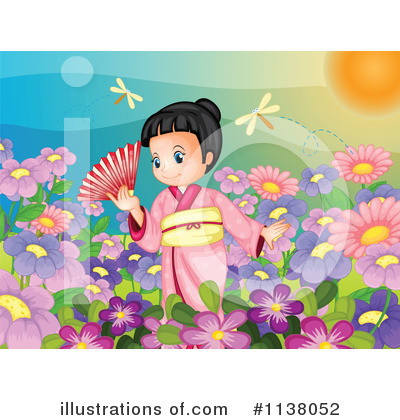 Geisha Clipart #1138052 by Graphics RF