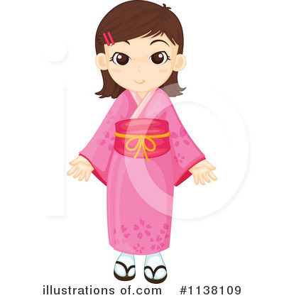 Geisha Clipart #1138109 by Graphics RF