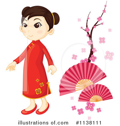 Geisha Clipart #1138111 by Graphics RF