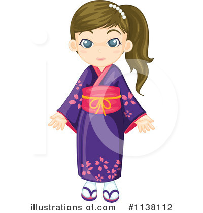 Geisha Clipart #1138112 by Graphics RF