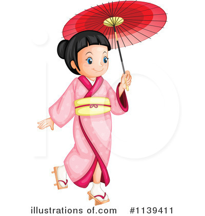Geisha Clipart #1139411 by Graphics RF