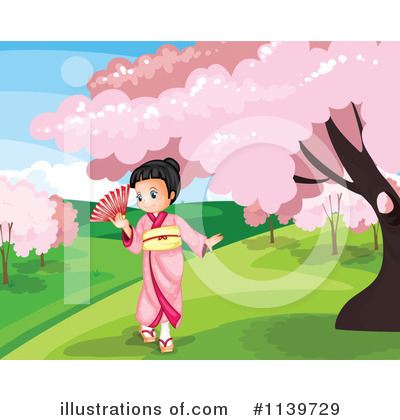 Geisha Clipart #1139729 by Graphics RF