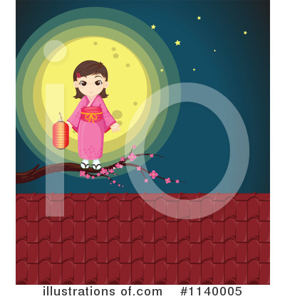 Geisha Clipart #1140005 by Graphics RF