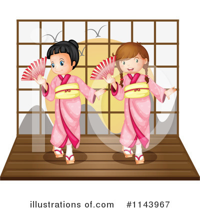 Geisha Clipart #1143967 by Graphics RF