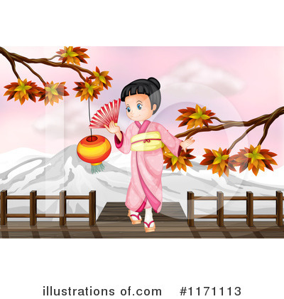 Geisha Clipart #1171113 by Graphics RF