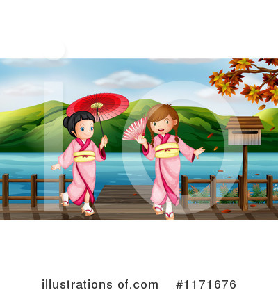 Geisha Clipart #1171676 by Graphics RF