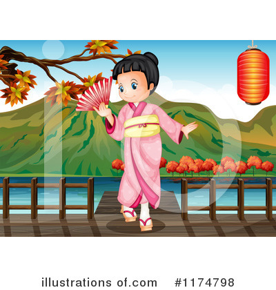 Geisha Clipart #1174798 by Graphics RF