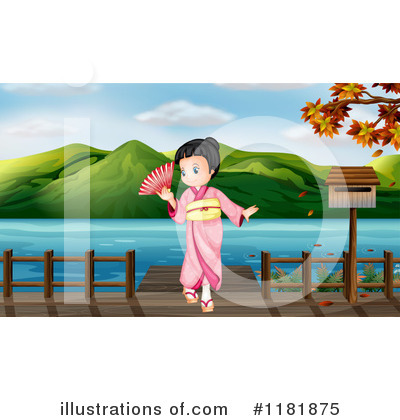 Geisha Clipart #1181875 by Graphics RF