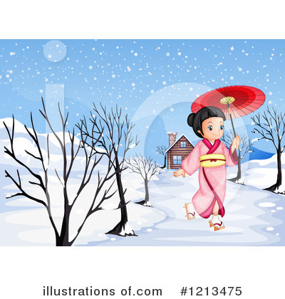 Geisha Clipart #1213475 by Graphics RF