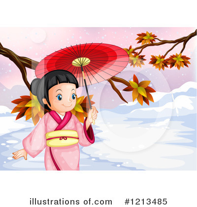 Geisha Clipart #1213485 by Graphics RF
