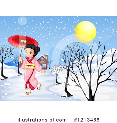 Geisha Clipart #1213486 by Graphics RF