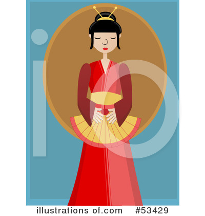 Geisha Clipart #53429 by mheld