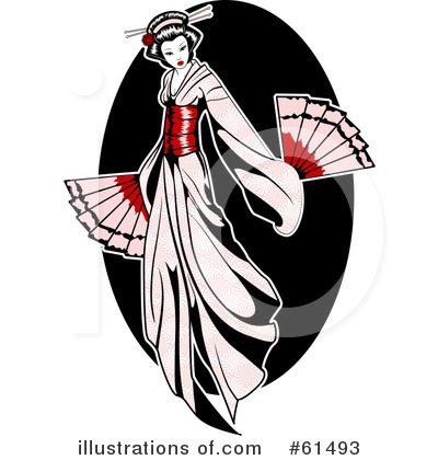 Geisha Clipart #61493 by r formidable