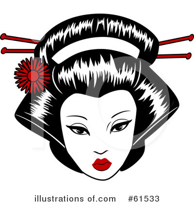 Geisha Clipart #61533 by r formidable
