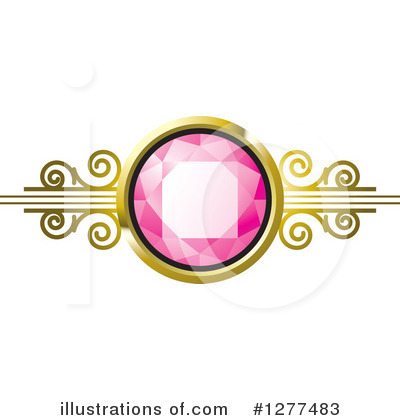 Gemstone Clipart #1277483 by Lal Perera