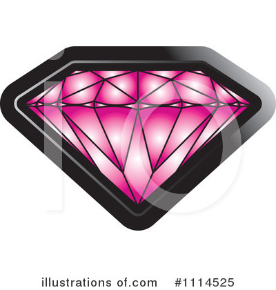 Royalty-Free (RF) Gemstone Clipart Illustration by Lal Perera - Stock Sample #1114525