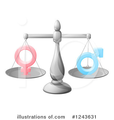 Gender Clipart #1243631 by AtStockIllustration
