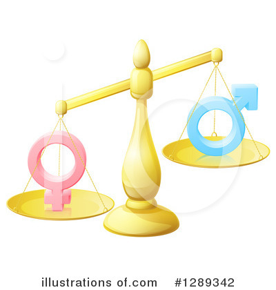 Gender Clipart #1289342 by AtStockIllustration