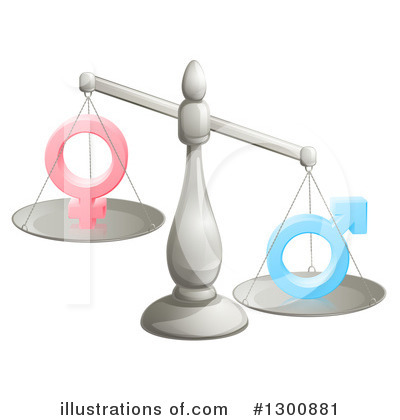 Justice Clipart #1300881 by AtStockIllustration
