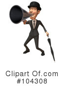 Royalty-Free (RF) Gentleman Clipart Illustration #104308