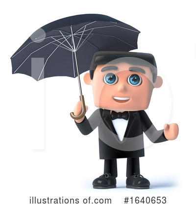 Gentleman Clipart #1640653 by Steve Young