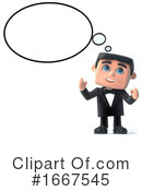 Gentleman Clipart #1667545 by Steve Young