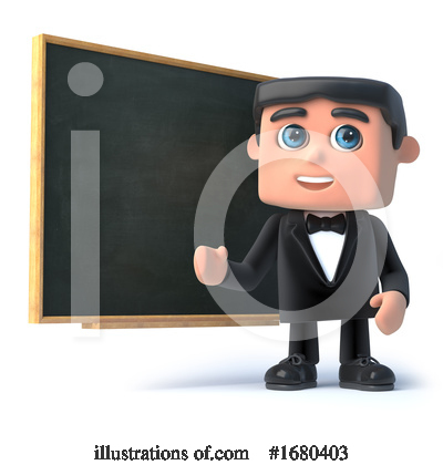 Royalty-Free (RF) Gentleman Clipart Illustration by Steve Young - Stock Sample #1680403