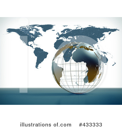 Map Clipart #433333 by Mopic