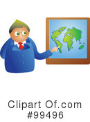 Royalty-Free (RF) Geography Clipart Illustration #99496
