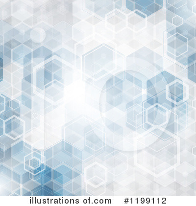 Hexagons Clipart #1199112 by KJ Pargeter