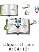 Royalty-Free (RF) Geometry Book Clipart Illustration #1341131