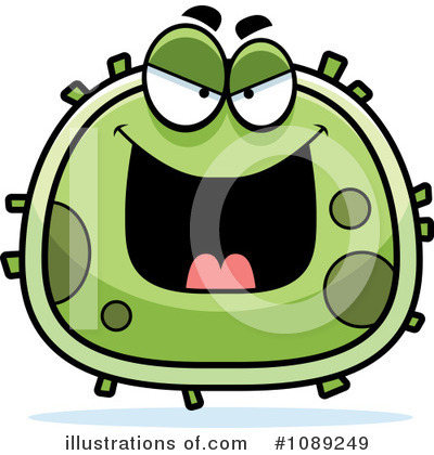 Germ Clipart #1089249 by Cory Thoman