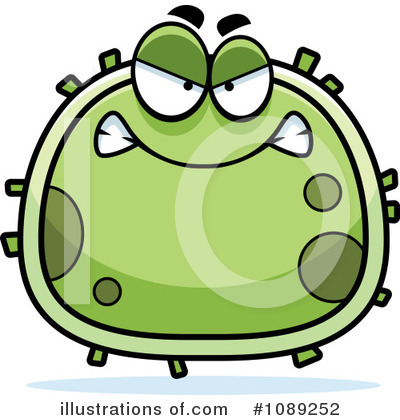Germ Clipart #1089252 by Cory Thoman