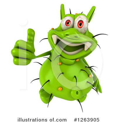 Green Germ Clipart #1263905 by Julos
