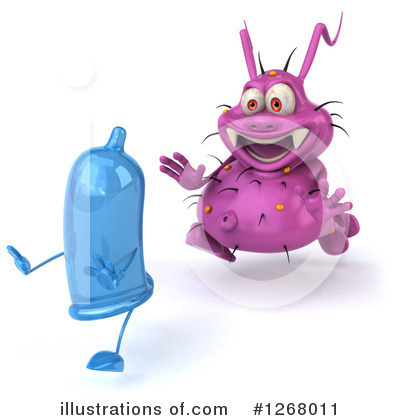 Royalty-Free (RF) Germ Clipart Illustration by Julos - Stock Sample #1268011