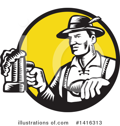 Beer Clipart #1416313 by patrimonio
