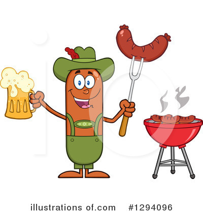 Beer Clipart #1294096 by Hit Toon