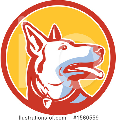Dog Clipart #1560559 by patrimonio