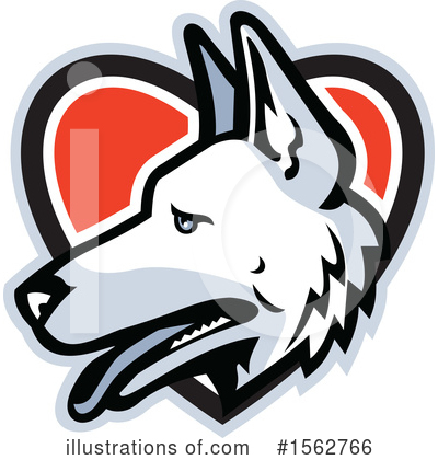 German Shepherd Clipart #1562766 by patrimonio