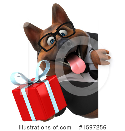 German Shepherd Clipart #1597256 by Julos