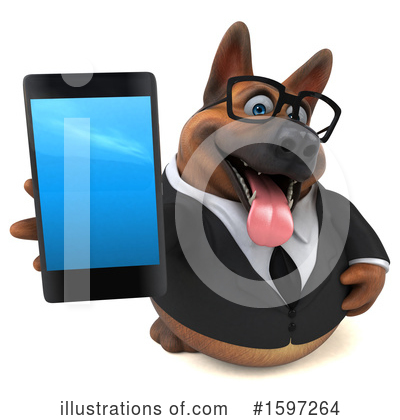 German Shepherd Clipart #1597264 by Julos