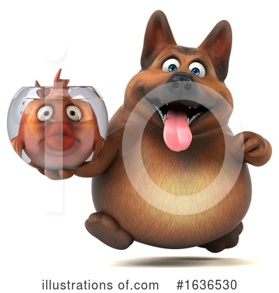 German Shepherd Clipart #1636530 by Julos