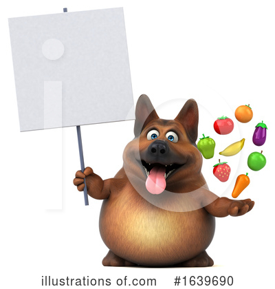 German Shepherd Clipart #1639690 by Julos