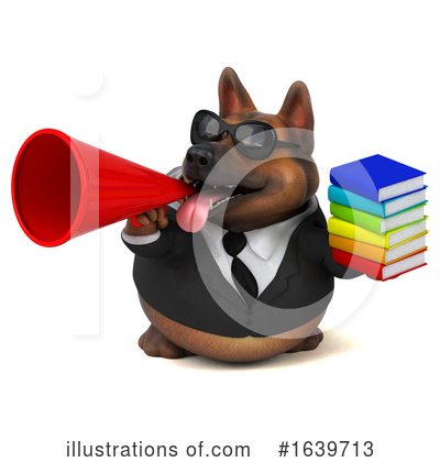 German Shepherd Clipart #1639713 by Julos